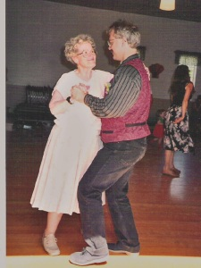 My Mom and I, dancing