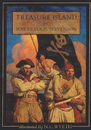 Painting by N. C. Wyeth